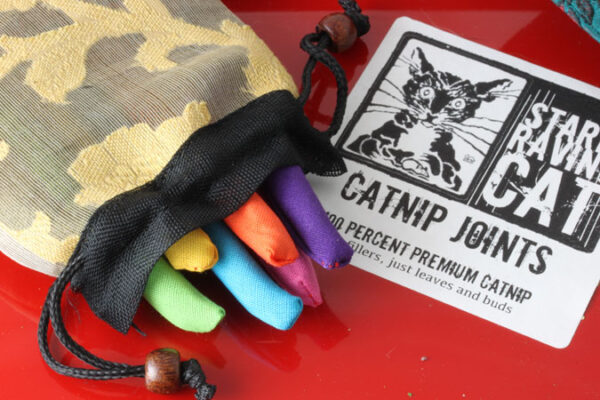 Six Rainbow Cat Joints In Bag