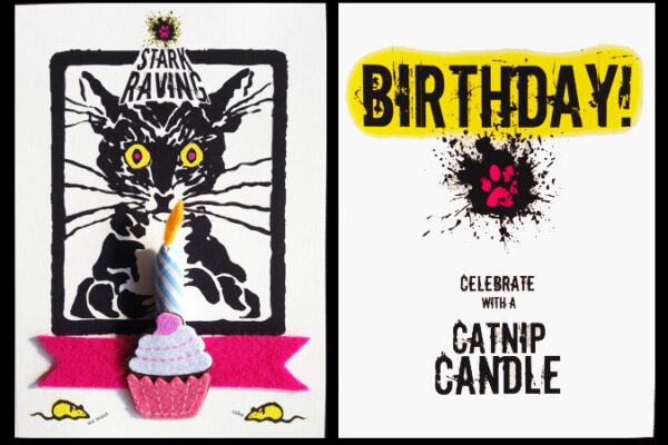 Catnip Candle Cards