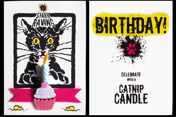 Catnip Candle Cards