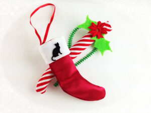 Catnip Candy Cane and Stocking