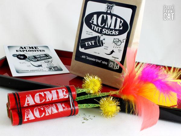Acme TNT Sticks with Catnip