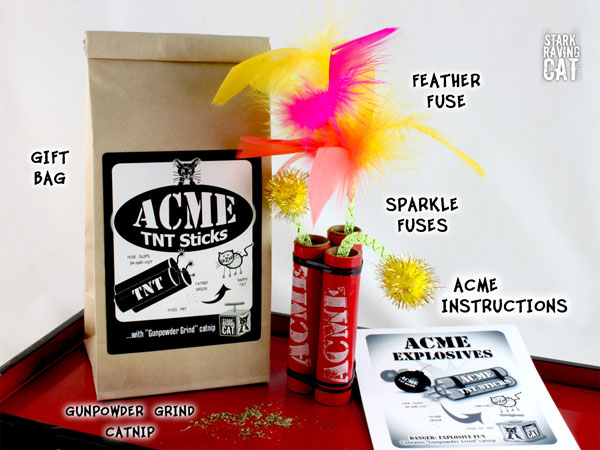 Acme TNT Sticks - What You Get