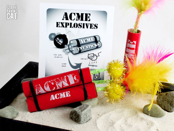 Acme TNT Sticks Can Be Used Anywhere