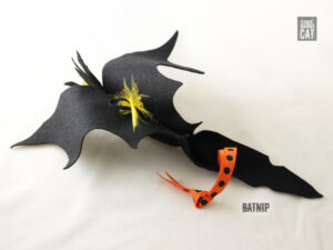 Batnip Cat Toy Dotted Ribbon