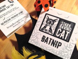 Batnip Cat Toy Gift Tag