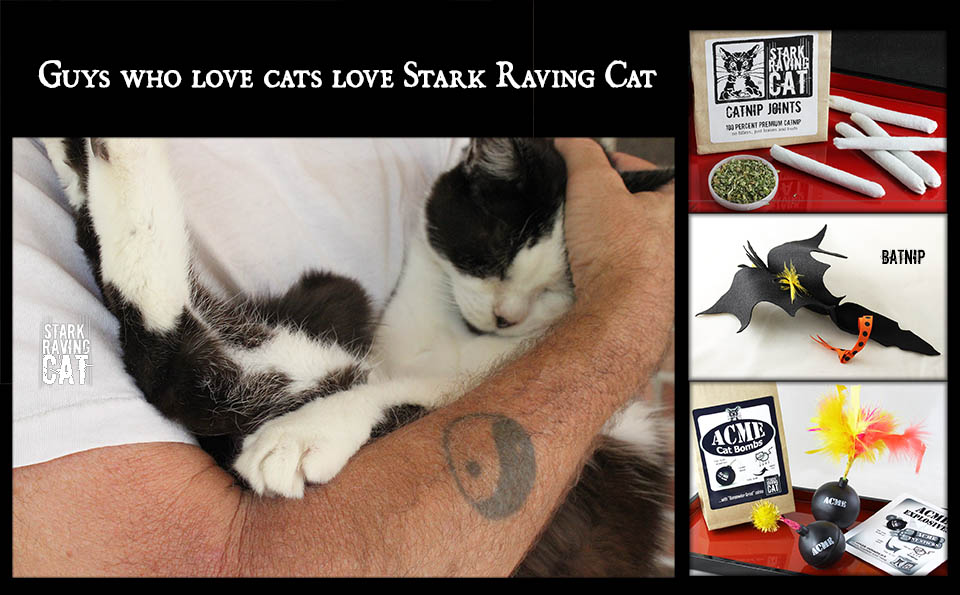 Men Who Love Cats Love Stark Raving Cat