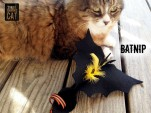 Batnip Cat Toy Pose