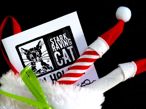 Santa's Rocking Stocking Catnip Joints