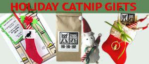 Christmas Catnip Gifts