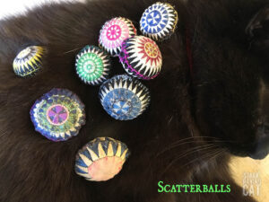 Wolfie Sleeping with Scatterballs