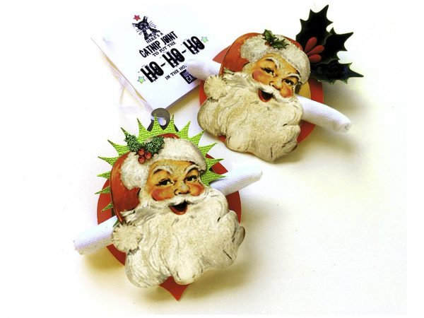Santa's Catnip Joint Ornament