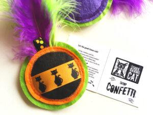 Catnip Confetti Medallion