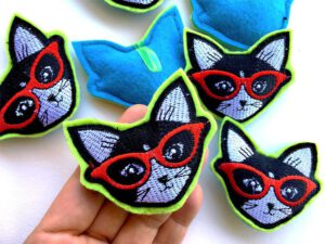 Cool Cat Catnip Toy Size