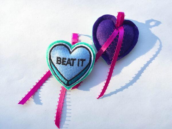 Love Bite Catnip Hearts
