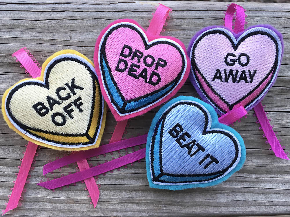Love Bites Catnip Hearts
