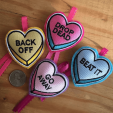 Set of 4 Love Bites
