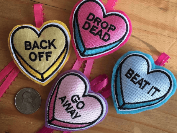Set of 4 Love Bites Catnip Toy