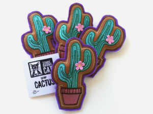 Cactus Catnip Toy 4Up