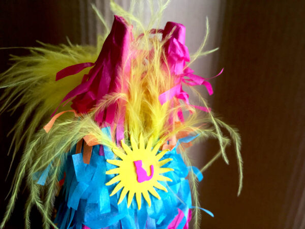 Catnip Piñata (Back of Head)
