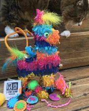 Tamale with Catnip Piñata (Burro)
