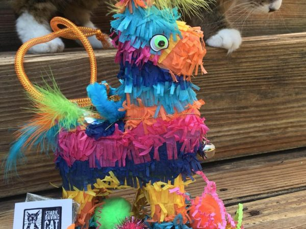 Tamale with Catnip Piñata (Burro)