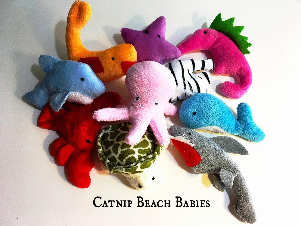 Beach Babies Catnip Toys