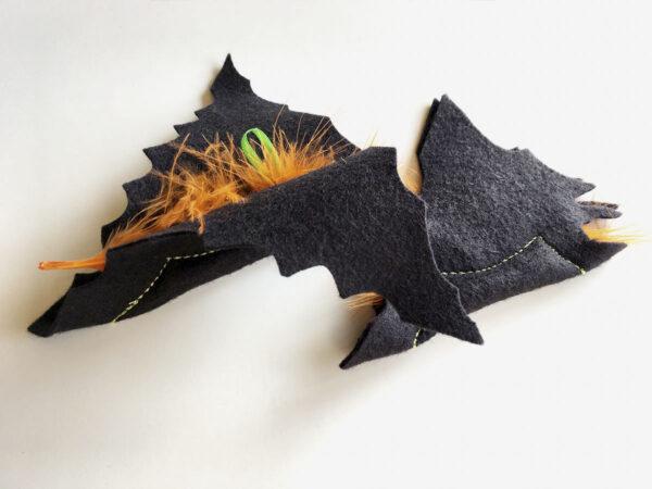 Black Baby Batnips Catnip Toys