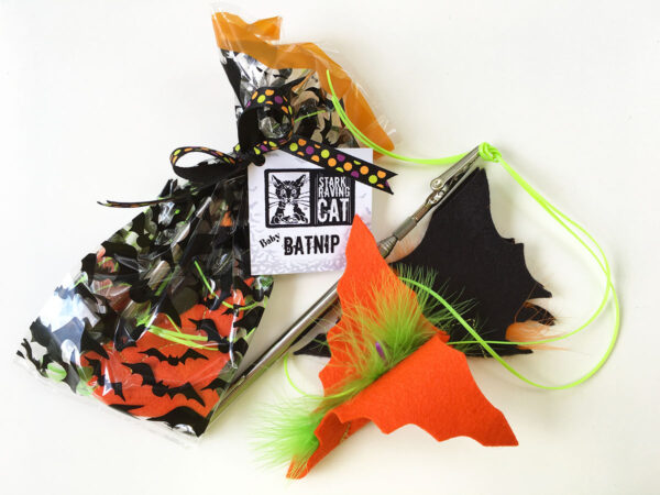 Halloween Batnip Set with Wand