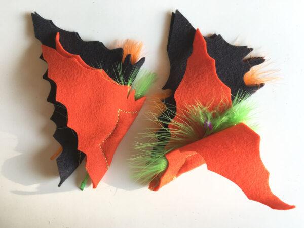 Halloween Batnips Catnip Toys