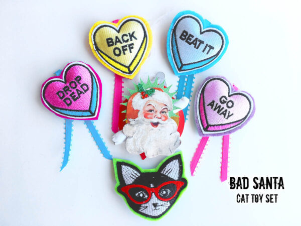 Grab n Go Gift Bag Bad Santa Set