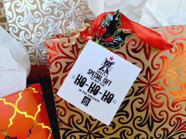 Gift Ho Ho Card