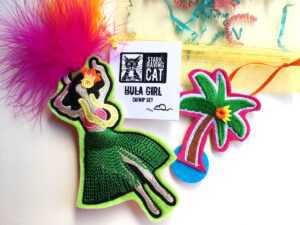 Hula Dancer Catnip Toy Set