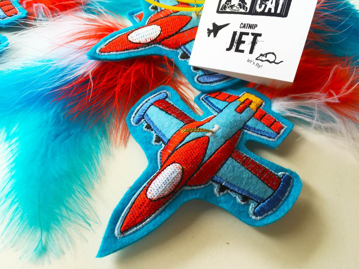 Catnip Jet Cat Toy