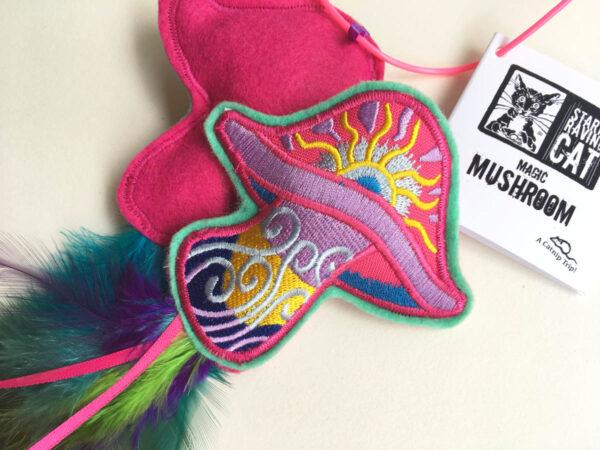 Magic Mushroom Catnip Toy