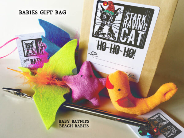 Catnip Toy Gift Bag Babies