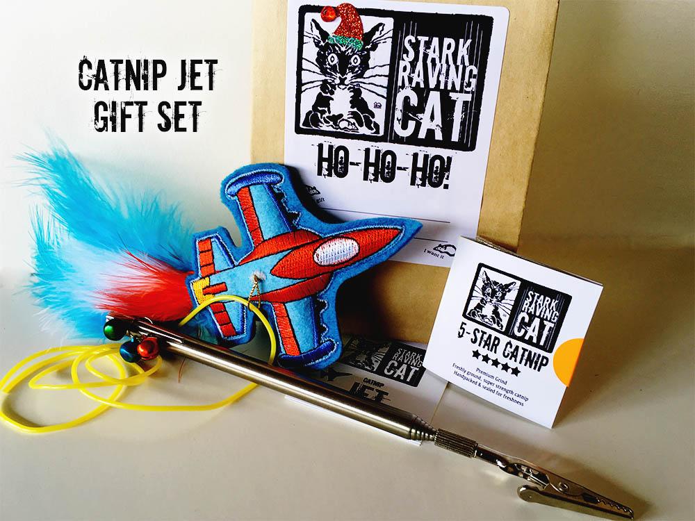 Jet and Wand Catnip Toy Set
