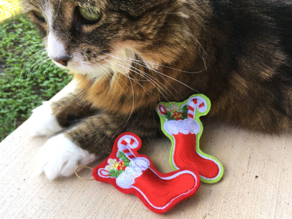 Tamale & 2 Mini Stockings Catnip Toys