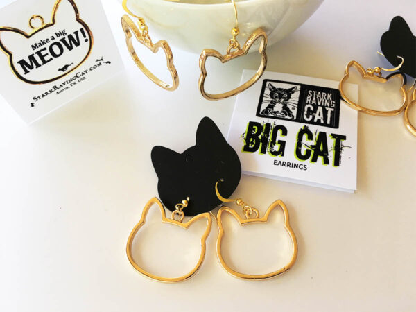 Big Cat Earrings