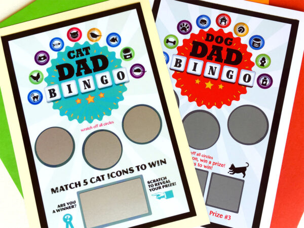 Cat-Dog-Bingo Greeting Card Combo