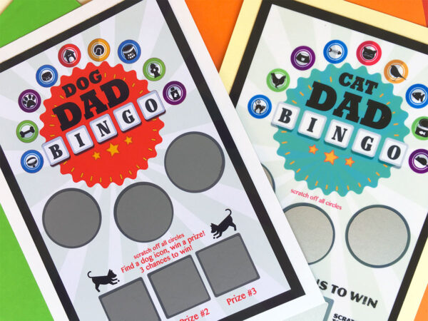 Cat-Dog-Bingo Greeting Card Combo