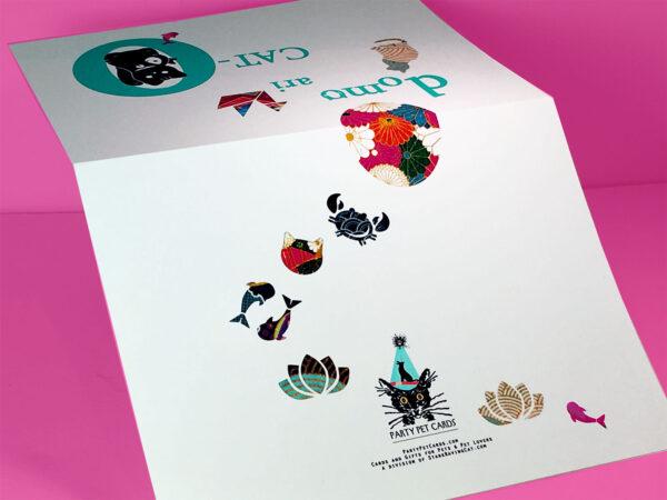 Domo Ari-Cat-O Thank You cards