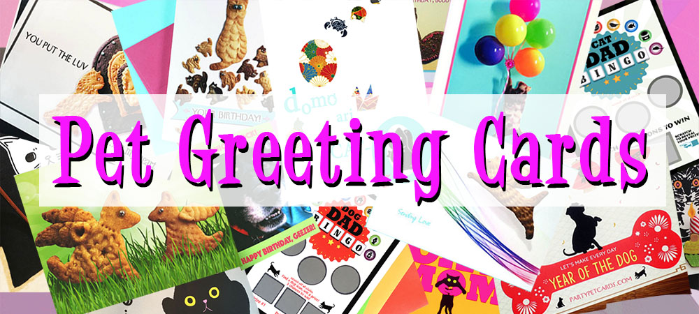 Party Pet Greeting Cards