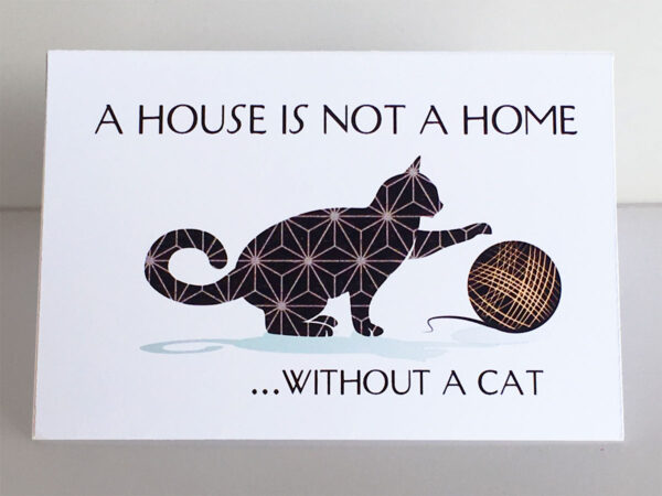 "Mini Cards ""Cat Quotes"" House..."