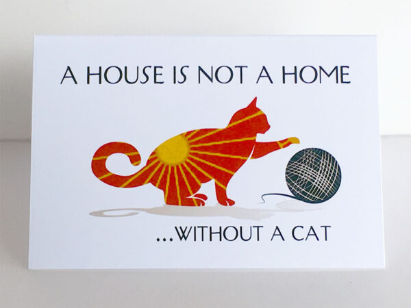 "Mini Cards ""Cat Quotes"" House..."