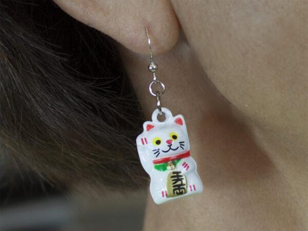 Neko Bell Earring