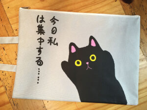 Cat Document Bag