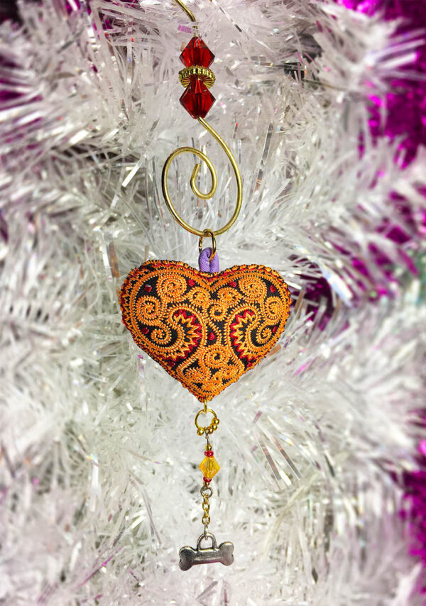 Heart Ornament for Dogs