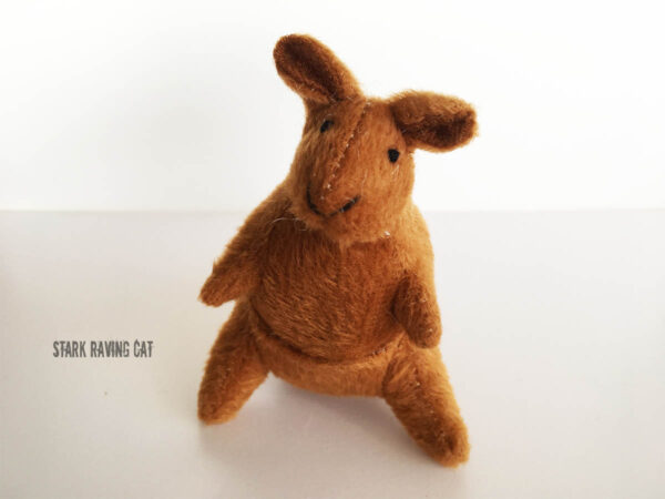 Kangaroo from Australian Animals Catnip Cat Toys