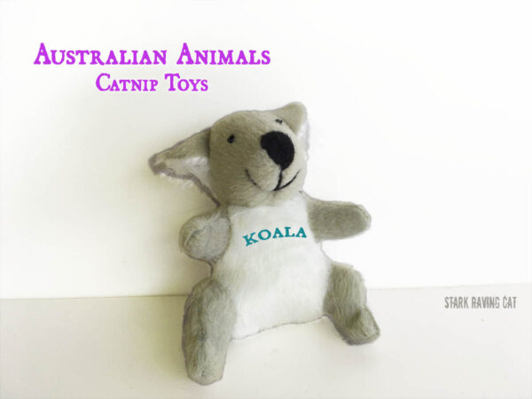 Koala from Australian Animals Catnip Cat Toys