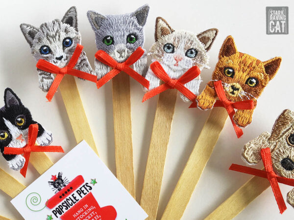 Popsicle Pet Cats